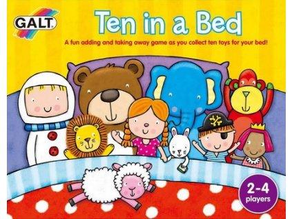 10 v posteli, Galt