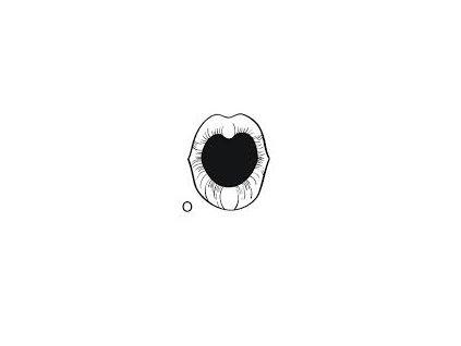 Malé logopedické razítko - O
