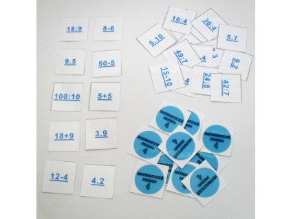 Matematické pexeso 4