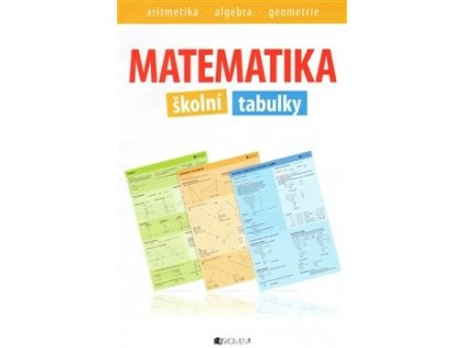 Matematika - školní tabulky - aritmetika, algebra, geometrie