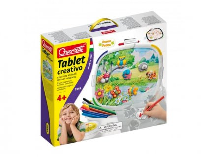Tablet creativo animal magnets, Quercetti