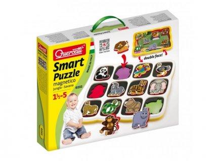 Smart Puzzle magnetico Jungle, Quercetti
