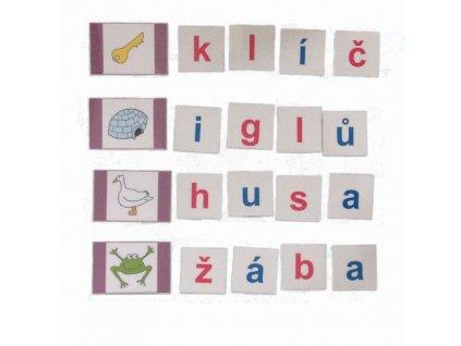 Montessori - Skládání slov 2