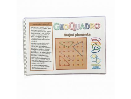 Stejná písmenka - předloha GeoQuadro