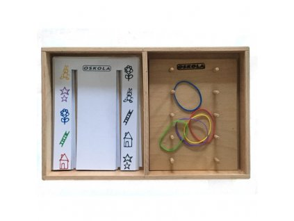 Dřevěná krabice GeoDuo