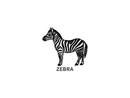 Obrázkové razítko - ZEBRA