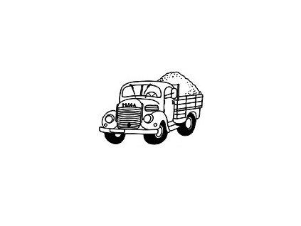 Obrázkové razítko - NÁKLADNÍ AUTO