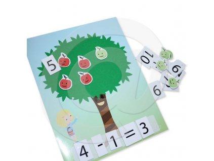 Didaktická sada - Počítání jablíček