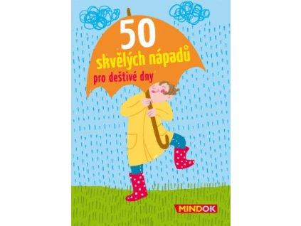 50 skvělých nápadů pro deštivé dny, Mindok