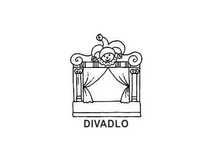 Obrázkové razítko - DIVADLO