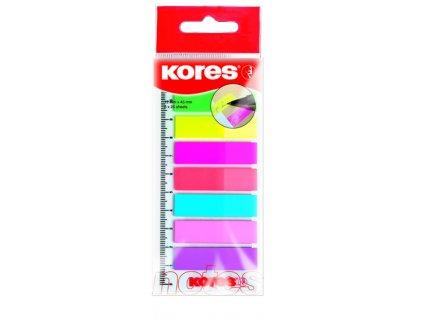 Neonove zalozky Kores