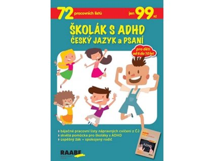 Skolak s ADHD Cesky jazyk a psani