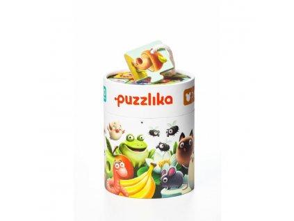 Puzzlika 12992 Mé jídlo - naučné puzzle 20 dílků