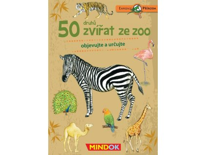 Expedice priroda 50 druhu zvirat ze ZOO