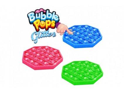 Bubble pops s glitry