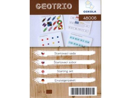 Startovací sada - předloha GeoTrio