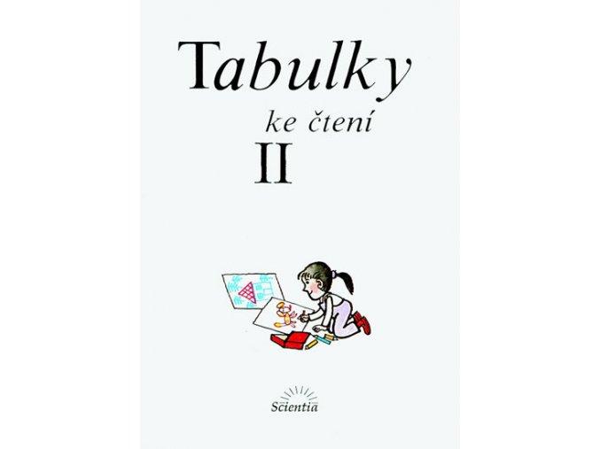 Tabulky ke čtení II - 2. vydání