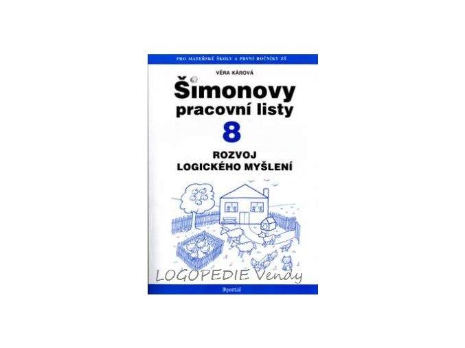 Šimonovy pracovní listy 8   Rozvoj logického myšlení
