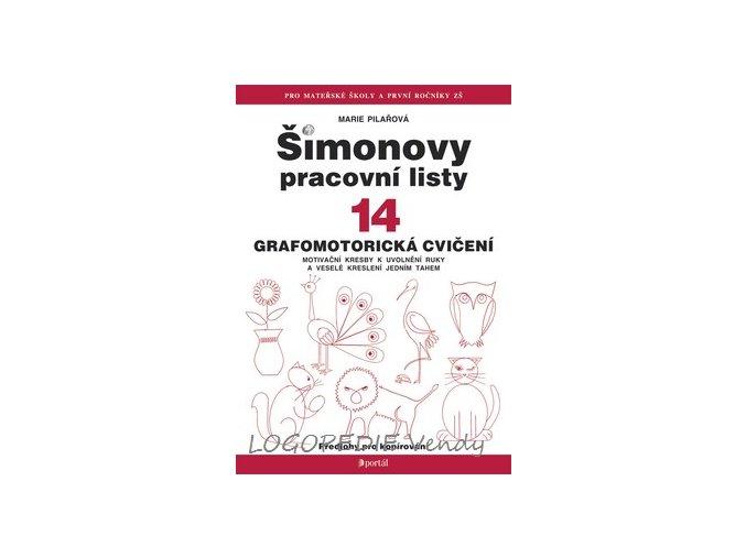 Šimonovy pracovní listy 14   Grafomotorická cvičení