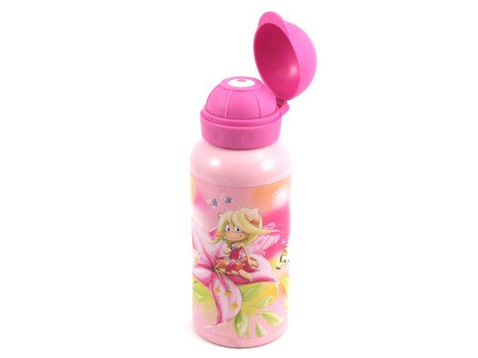 Láhev na pití Simsaly, růžová