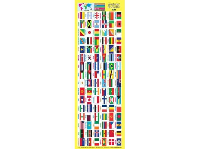 Záložka - Státní vlajky, Petr Kupka
