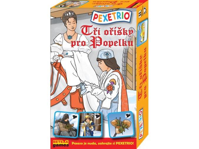 Pexetrio - Tři oříšky pro Popelku