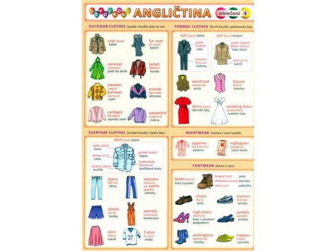 Obrázková angličtina 4 - Oblečení