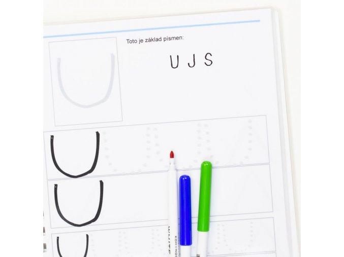 Základy písmen - hůlkové písmo