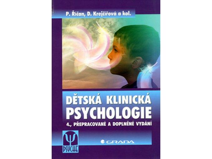 Dětská klinická psychologie - 4. vydání