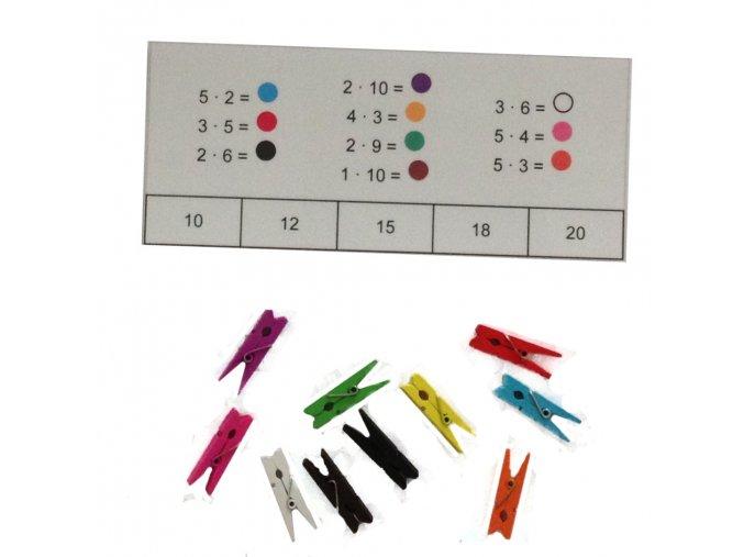 Matematické doplňovačky 3 - Malá násobilka