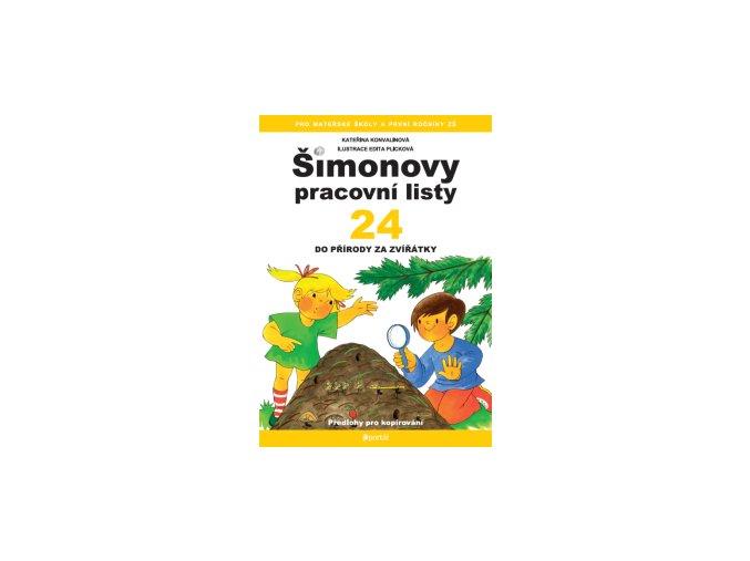 Šimonovy pracovní listy 24 - Do přírody za zvířátky