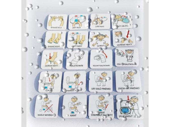 Set 20 ks piktogramů - Hygiena 2