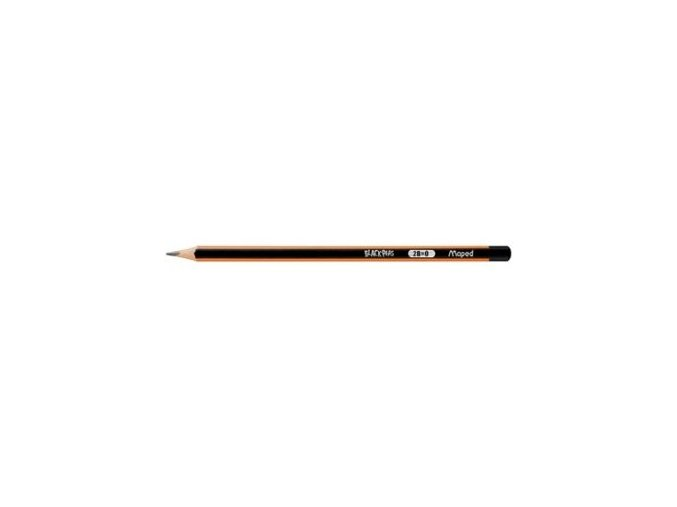 Tužka Maped Black´Peps č. 1 - B bez gumy