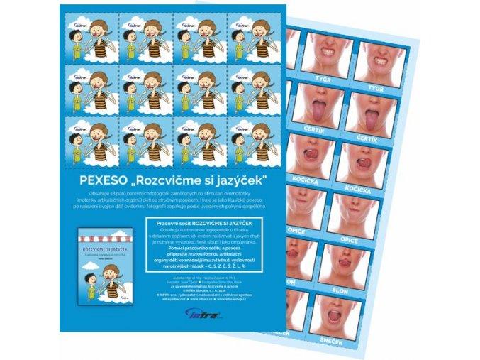 Rozcvicme si jazycek pexeso