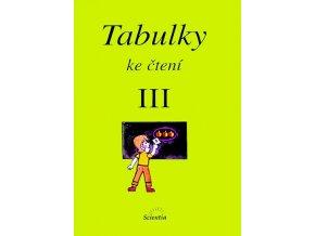 Tabulky ke čtení III - 2. vydání