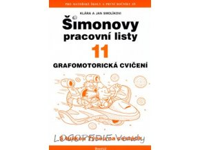 Šimonovy pracovní listy 11  Grafomotorická cvičení