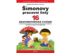 Šimonovy pracovní listy 16   Grafomotorická cvičení