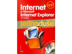 Internet a Microsoft Internet Explorer  Jednoduše