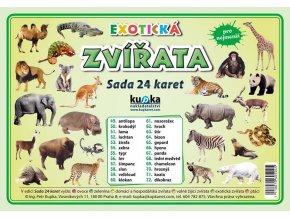Exotická zvířata - Sada 24 karet, Petr Kupka