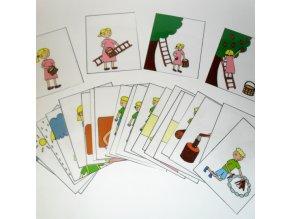 Dějové posloupnosti - strukturované karty