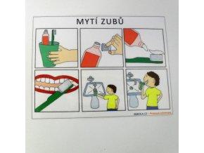 Mytí zubů