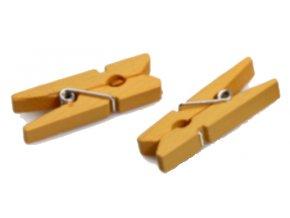 Kolíček 3,5 cm, žlutý
