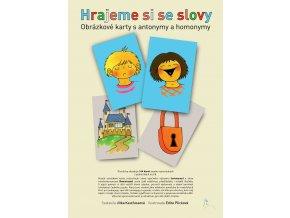 Hrajeme si se slovy - Obrázkové karty s antonymy a homonymy