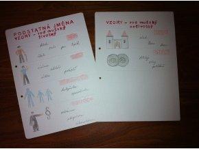 Vzory podstatných jmen - rod mužský