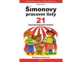 Šimonovy pracovní listy 21 - Grafomotorické pohádky
