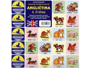 Najdi dvojici - Angličtina - 4. Zvířata