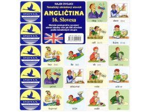 Najdi dvojici - Angličtina -16. Slovesa