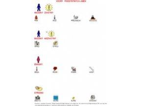 Vzory podstatných jmen - naučná karta