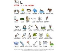 Výslovnost L začátek slova - naučná karta
