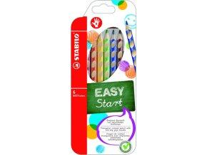STABILO EASYcolors, silné pastelky pro praváky 6ks